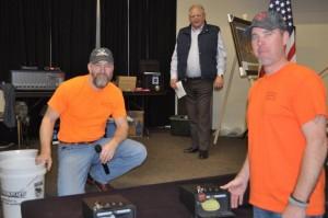 BGCA President (Chris Edwards) and BGCA Secretary (Jeremy Schaaf) are the winners of Card Game 1.