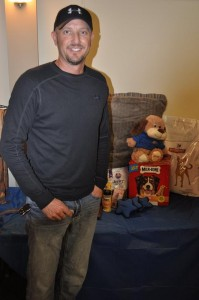 General Raffle: Dog Package Winner, Kyle Biggerstaff, Lincoln, NE