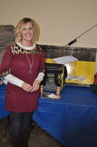 General Raffle: Fishing Package Winner, Alicia Hermsmeyer, Broken Bow, NE
