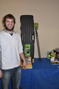General Raffle: Predator Package Winner, Andrew Tibbetts, Palmer, NE