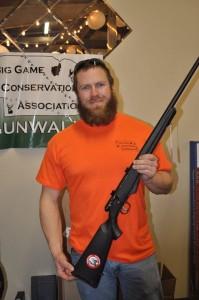 Gun Wall Winner - Steven Salwei, Omaha, NE - Savage .17 Hornet