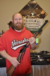 Gun Wall Winner, Dustin Hampton, Omaha, NE - Marlin 30-30.