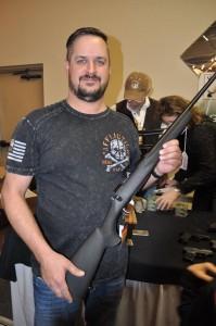 Gun Wall Winner, Eric Greisen, Platte Center, NE - Howa .270 w/ scope