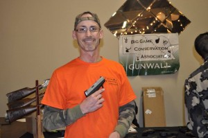 Gun Wall Winner, Thomas Bouche', Omaha, NE - Taurus 709, Slim 9mm.