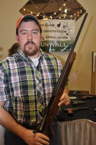 Gun Wall Winner, Jared Reorda, York, NE - Mossberg 25.06