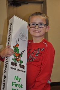 FREE Youth Raffle Winner, Kamen Biggerstaff, Lincoln, NE - Cricket Rifle .22.
