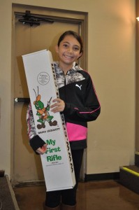 FREE Youth Raffle Winner, Abryana Hallgren, Lincoln, NE - Cricket Rifle .22